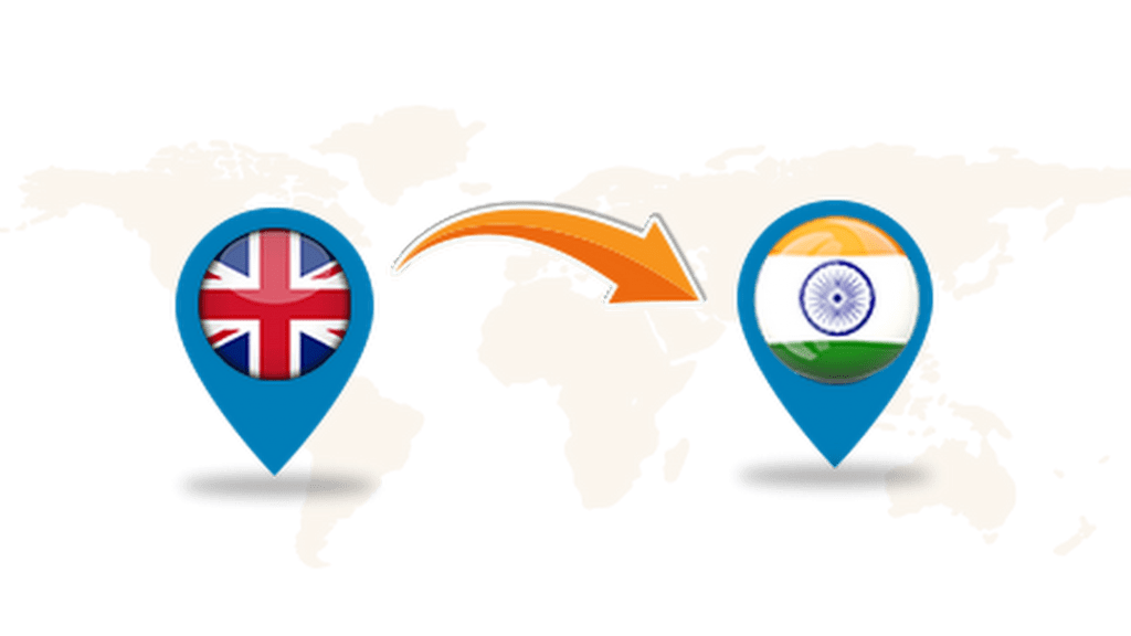 Courier Cargo to India from UK