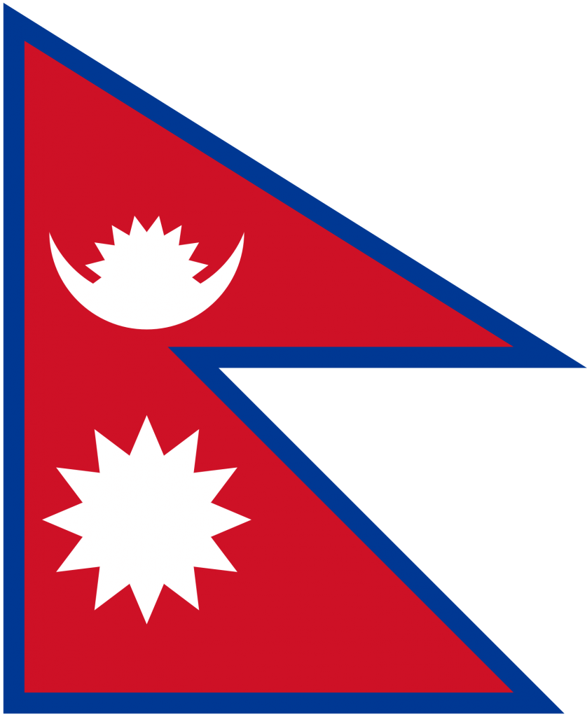 Courier to Nepal from the UK